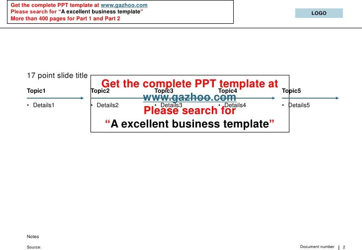 """Get the complete PPT template at www.gazhoo.com Please search for """"A excellent business template""""                         ..."""