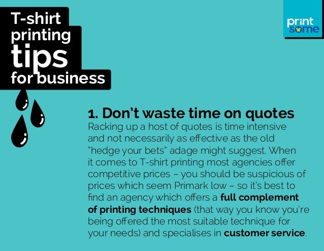 T shirt printing tips for business for How to start t shirt printing business