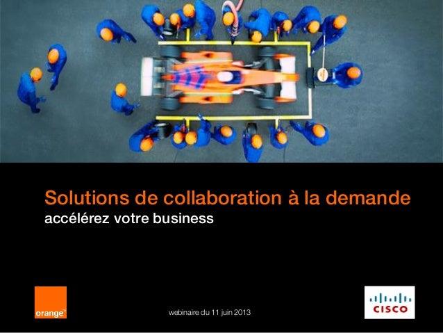 Solutions de collaboration à la demande: Business Together as a Service
