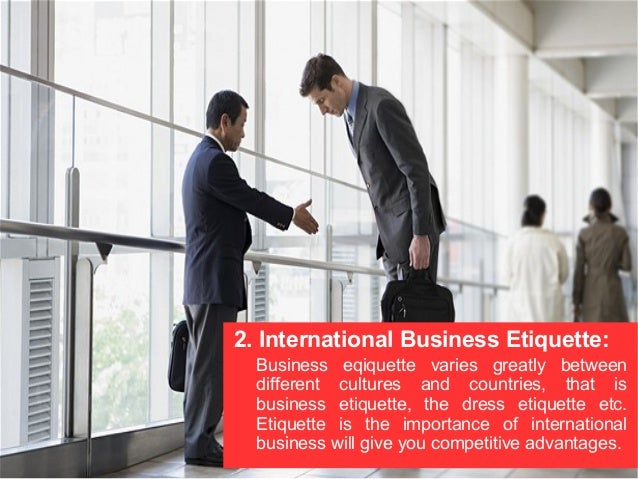 Business Travel Etiquette Slideshare