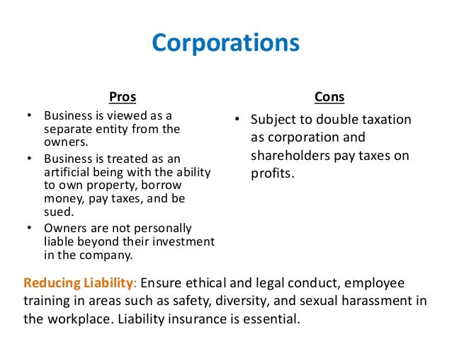 prons and cons of corporate reporting