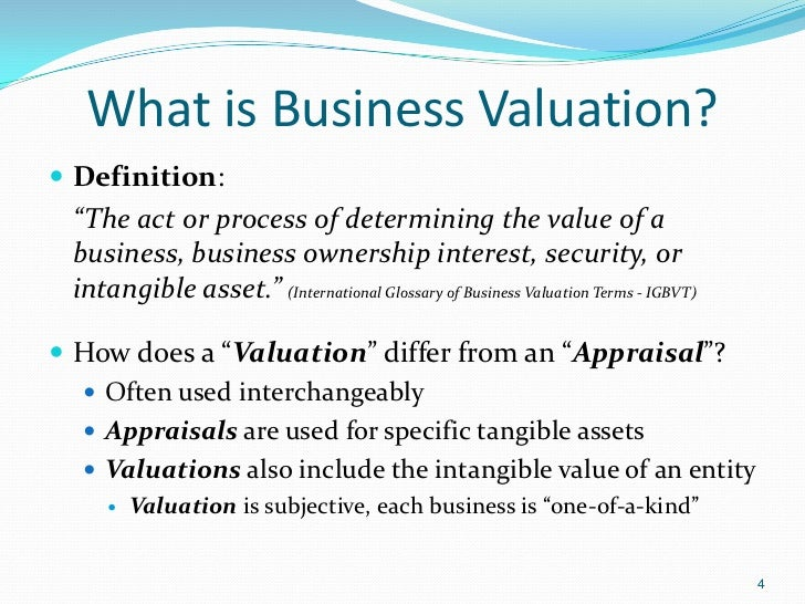 Business Valuation Fundamentals The Maximization Of Entity Value