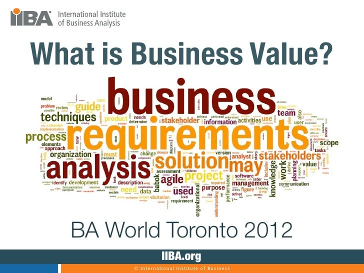 What Is Business Value