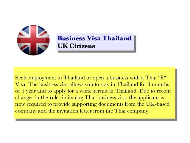 Business visa thailand uk citizens business visa thailand business visa thailand uk citizens uk citizens seek employment in thailand or open stopboris Choice Image