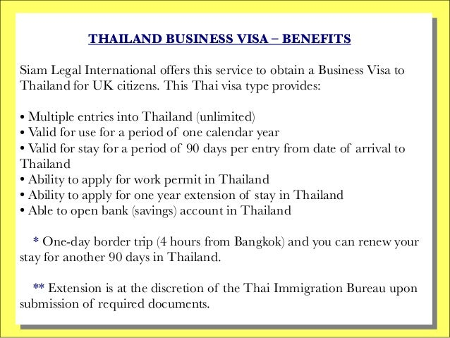 Business visa thailand uk citizens 2 thailand business sciox Image collections
