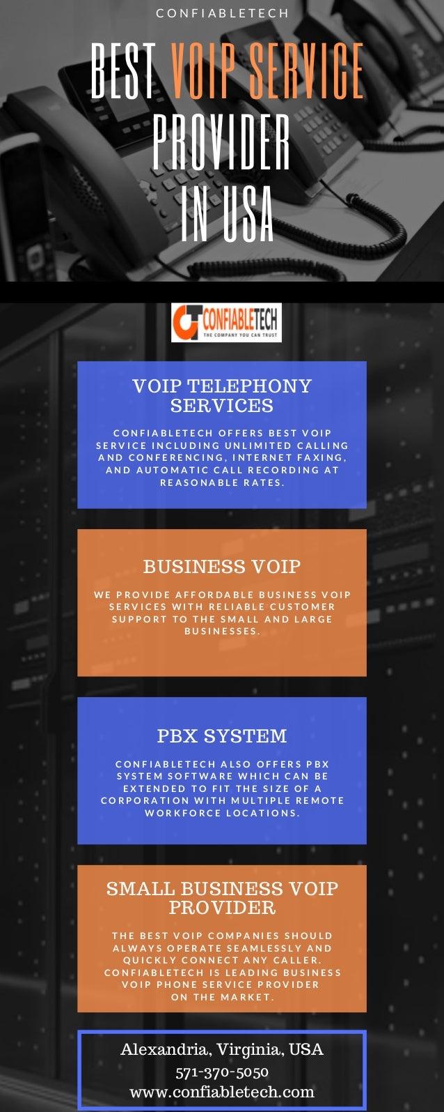 Best Voip Service >> Confiabletech Best Voip Service Provider In Usa
