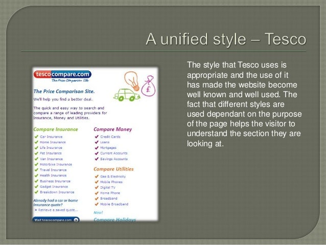 Business website analysis