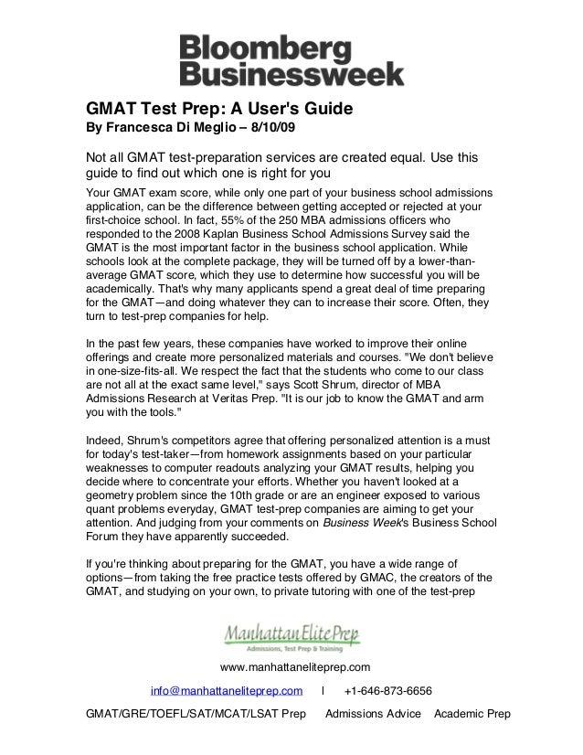 manhattan elite prep gmat test prep a user s guide rh slideshare net User Webcast User Training