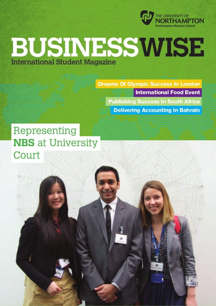 International Student Magazine                        Dreams Of Olympic Success In London                                 ...