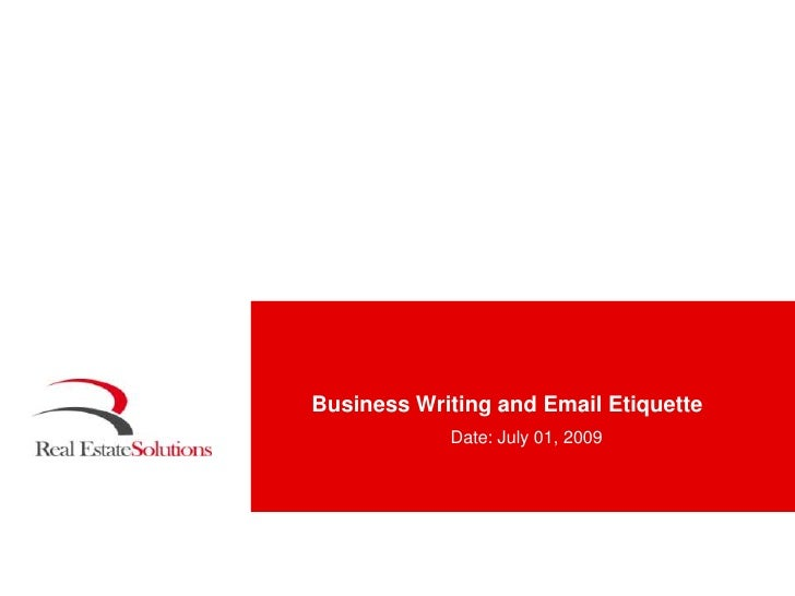 Email Etiquette: Improve your business writing & communication skills