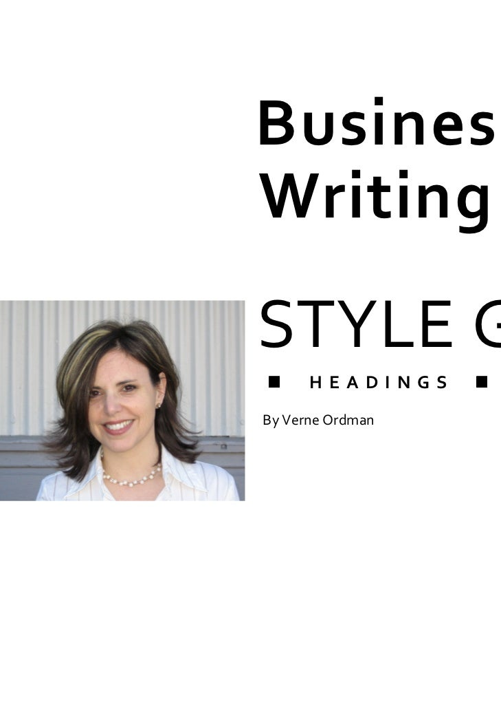 business writing style in china