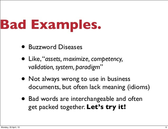 bad email examples pdf