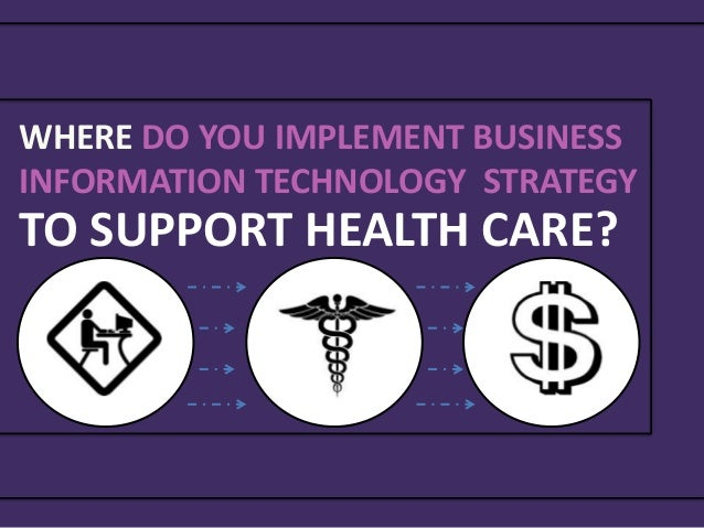 Information systems program and business needs: Case study ...