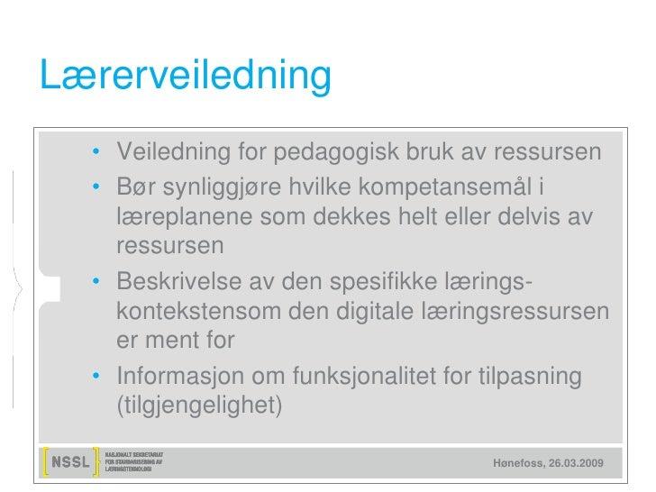 Hva er en god digital læringsressurs?