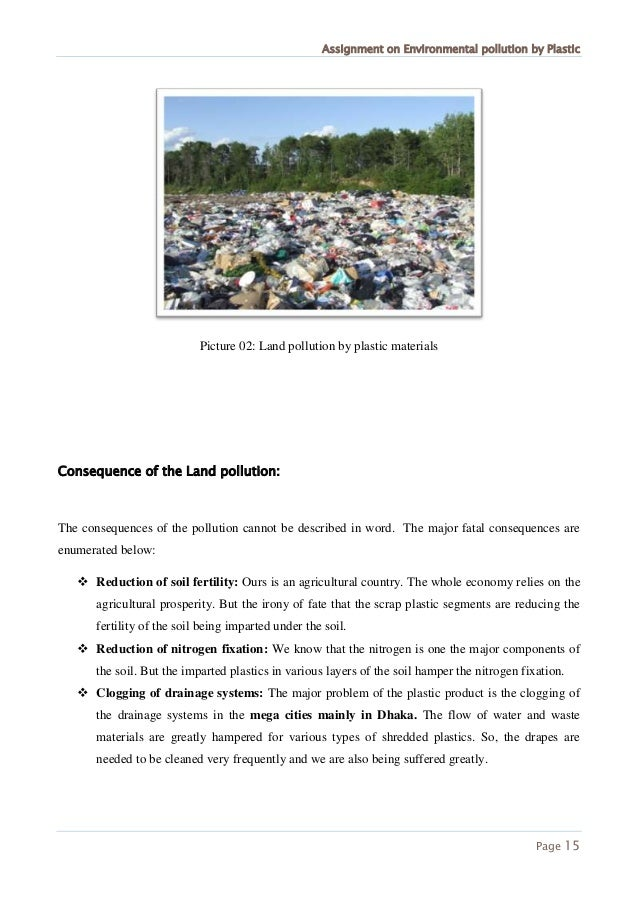 an analysis of pollution in the environment Analysis of pollution prevention investments using total cost assessment production plating expects to replicate the tca analysis to evaluate future pollution prevention opportunities.