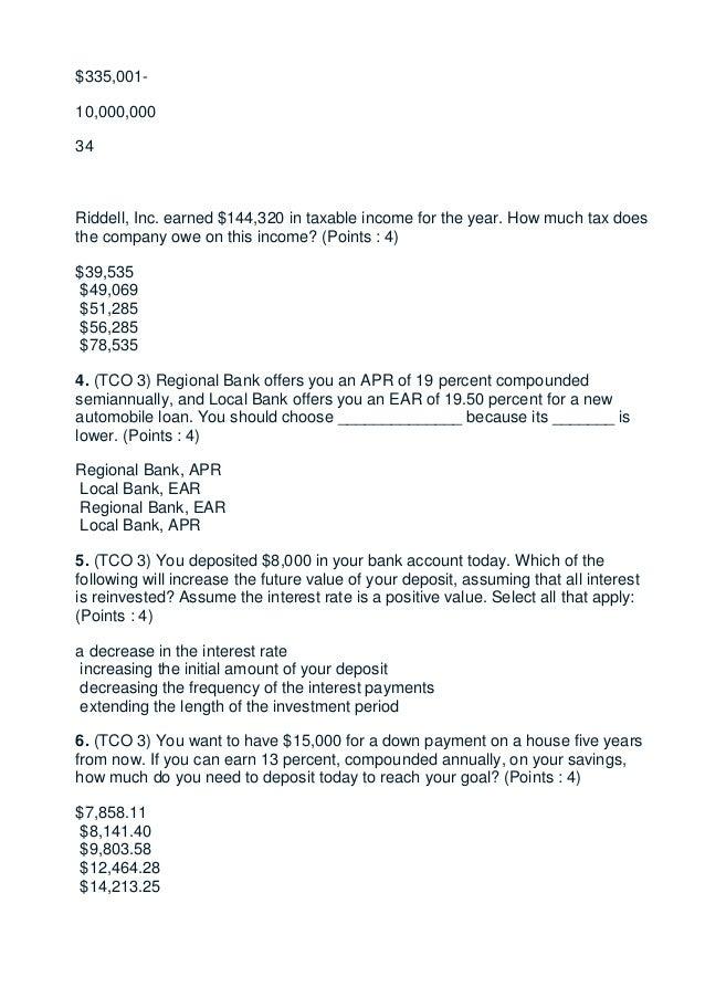 busn 379 Devry busn 379 finance week 6 homework solution.