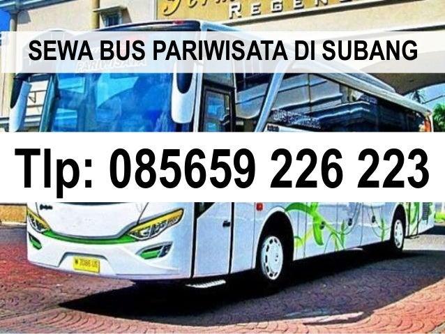 Tlp: 085659 226 223 SEWA BUS PARIWISATA DI SUBANG