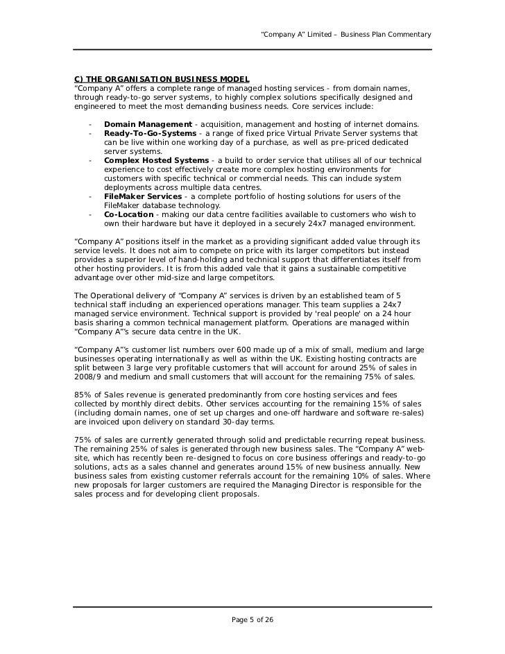 document storage business plan