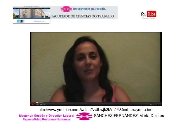 http://www.youtube.com/watch?v=fLwjk3MeI2Y&feature=youtu.be Master en Gestión y Dirección Laboral Especialidad Recursos Hu...