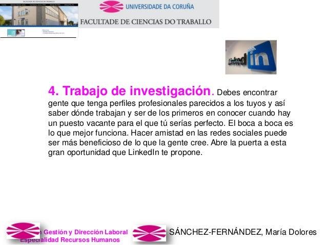 SÁNCHEZ-FERNÁNDEZ, María DoloresMaster en Gestión y Dirección Laboral Especialidad Recursos Humanos 4. Trabajo de investig...