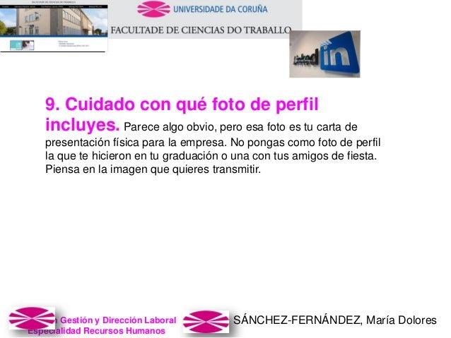 SÁNCHEZ-FERNÁNDEZ, María DoloresMaster en Gestión y Dirección Laboral Especialidad Recursos Humanos 9. Cuidado con qué fot...