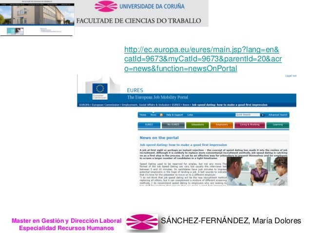 SÁNCHEZ-FERNÁNDEZ, María DoloresMaster en Gestión y Dirección Laboral Especialidad Recursos Humanos http://ec.europa.eu/eu...