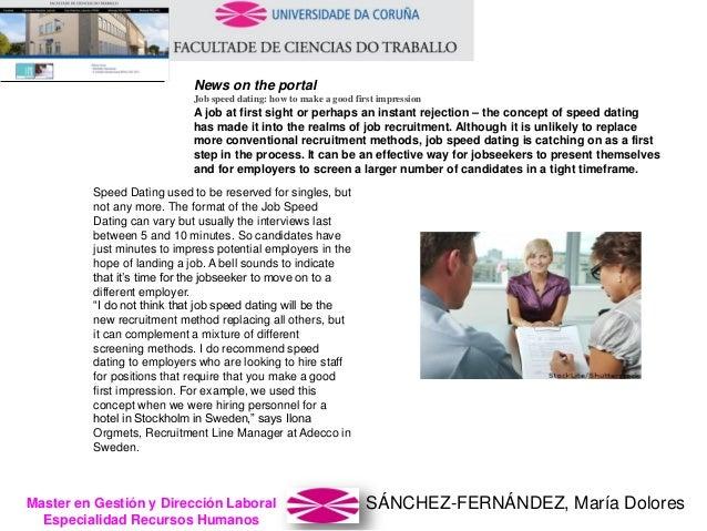 SÁNCHEZ-FERNÁNDEZ, María DoloresMaster en Gestión y Dirección Laboral Especialidad Recursos Humanos News on the portal Job...