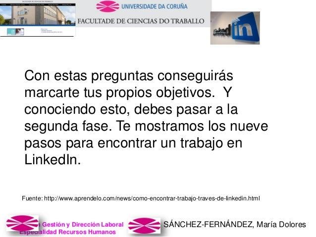 SÁNCHEZ-FERNÁNDEZ, María DoloresMaster en Gestión y Dirección Laboral Especialidad Recursos Humanos Con estas preguntas co...