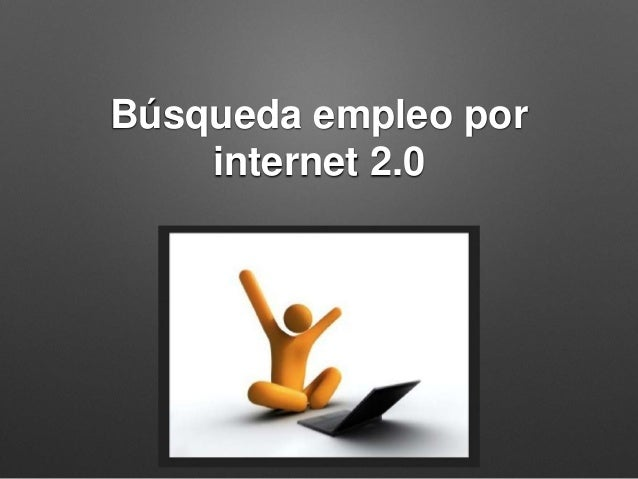 Búsqueda empleo por internet 2.0