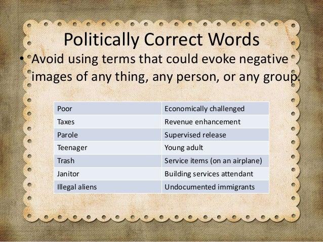 Political correctness: too far or too sensitive? – voices – medium.