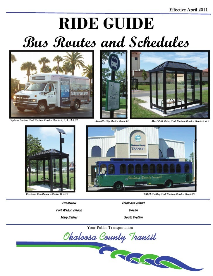Bus Routes in Destin Florida - Other Transportation in Destin