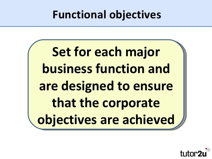 jensen corporate objective function Operations, strategy and operations strategy • what are the strategic objectives of this business function • how does the function contribute to the business.