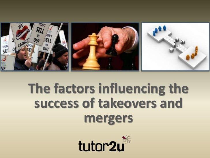 factors leading to mergers and acquisitions