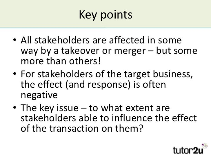 the influence of stakeholders on a How can the answer be improved.