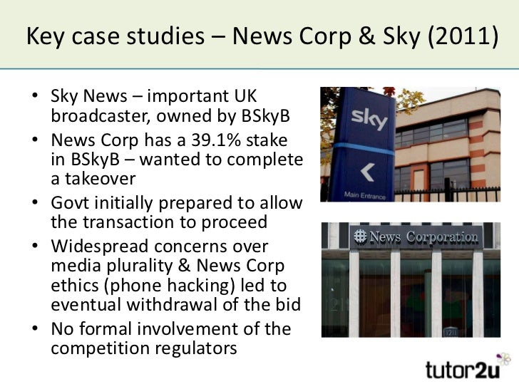 takeovers and mergers court case studies