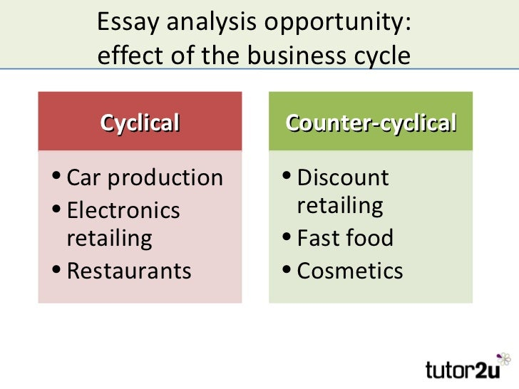 the business cycle and economic growth essay analysis opportunity effect of the business cycle