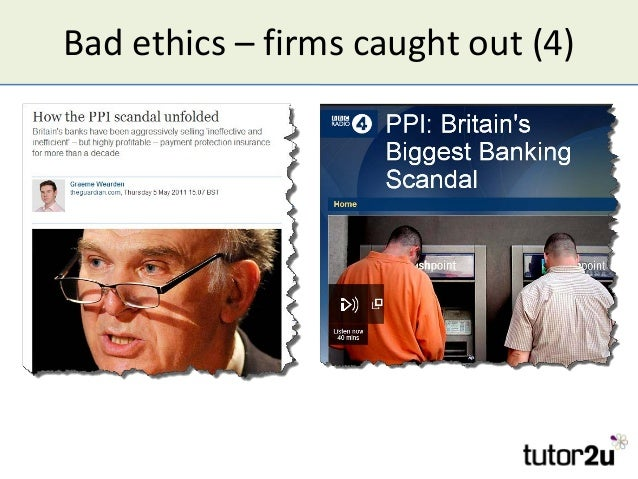 Bad ethics – firms caught out (4)