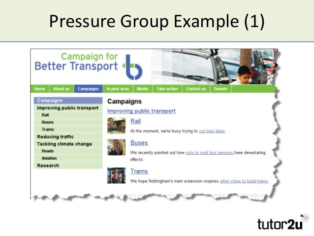 Pressure Group Example (1)