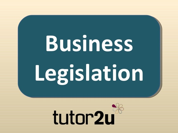 BusinessLegislation