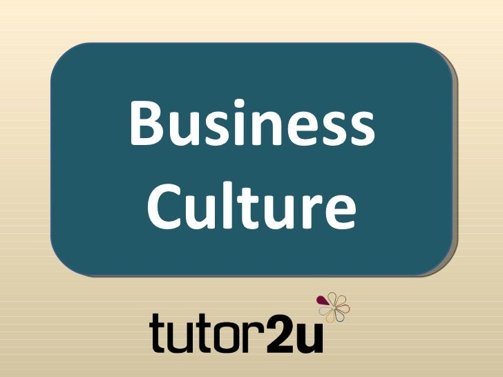 business culture and strategy outcome 2 Culture strategy corporate culture is culture can affect business outcomes in a number organizational culture: the effect of behavior on performance overview 3.