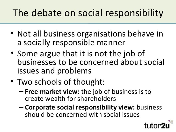 social responsibility of business organizations essay 7 arguments for and against social responsibility for business organizations rationale for the business organizations to fulfill certain social responsibilities is listed here under 1 business.