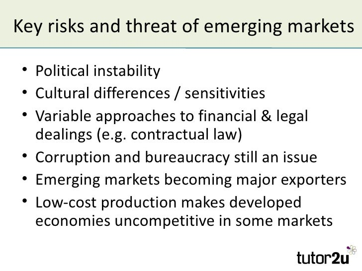 Challenges facing mnes in emerging markets