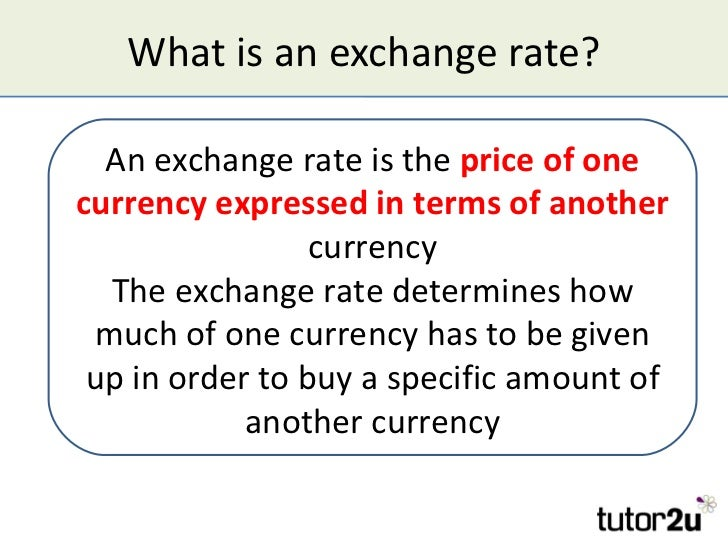 What is currency exchange