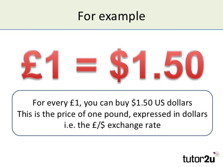 Business and Exchange Rates