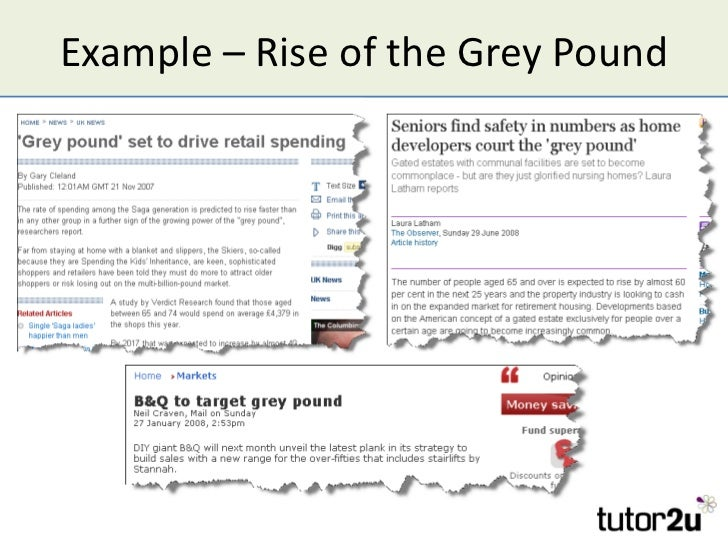 Example – Rise of the Grey Pound
