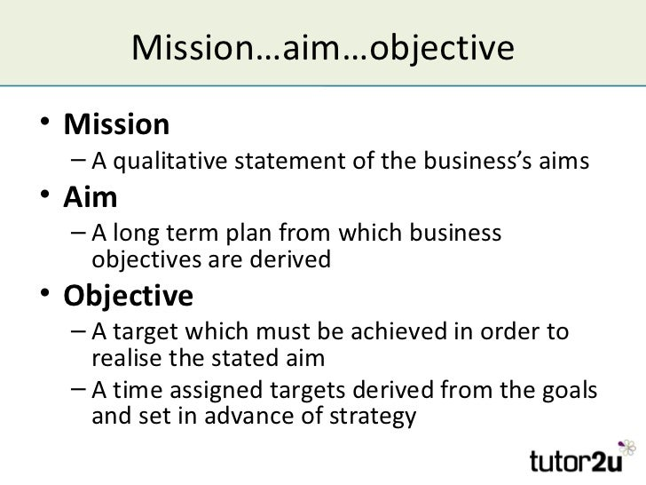 Mission, Aims & Objectives