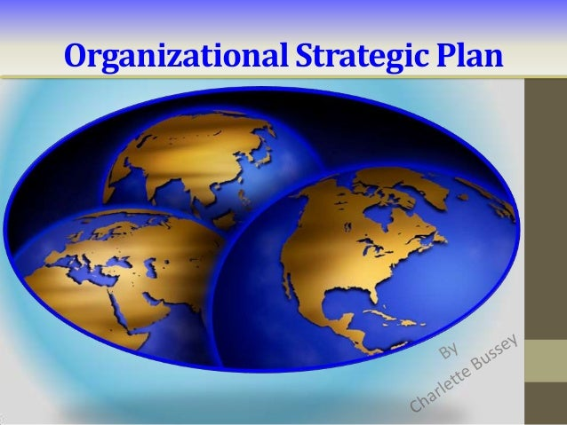 Organizational Strategic Plan