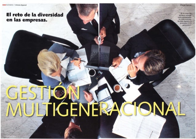 Revista Business - Talento multigeneracional