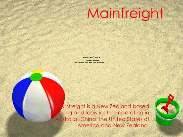 Mainfreight   Mainfreight is a New Zealand based trucking and logistics firm operating in Australia, China, the United Sta...
