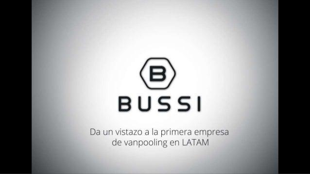 ¿Qué es Bussi?